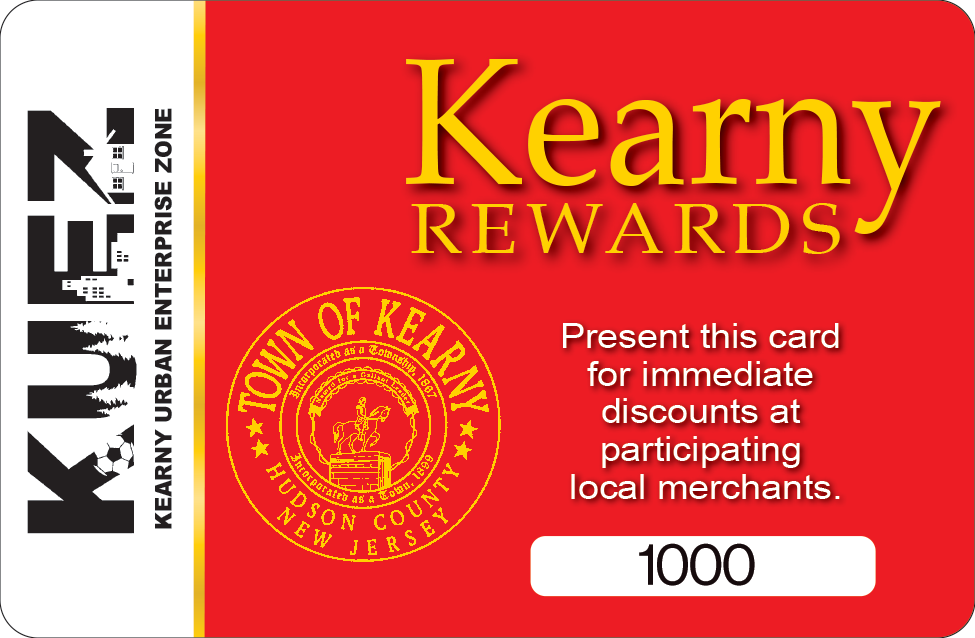 kearny rewards card
